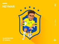 Neymar-Football