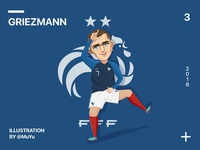 Antoine Griezmann-Football