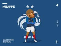MBAPPÉ-Football