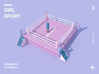 Girl Sport-Boxing
