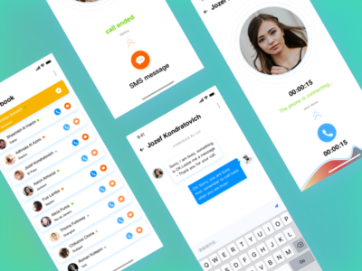 Social phone SMS switching