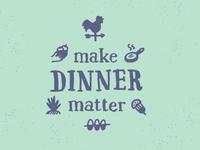 Make Dinner Matter unused concept #2