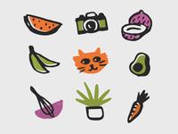 lifestyle blog icons