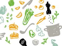 Foodie pattern