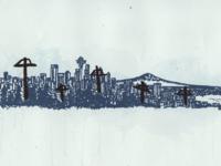 Seattle Skyline: 2015
