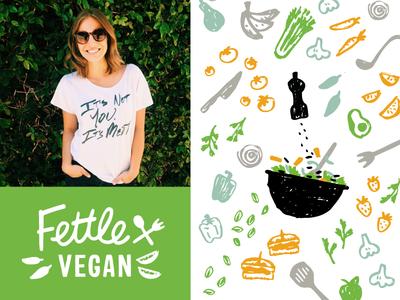 Fettle Vegan Branding