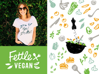 Fettle Vegan Branding