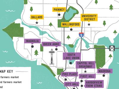 Seattle market map