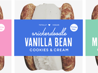 Cookies & cream packaging