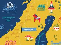 Scandinavian map wip
