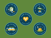 Plant-Based Adventure badges