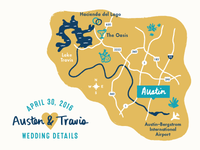 ATX Wedding Map