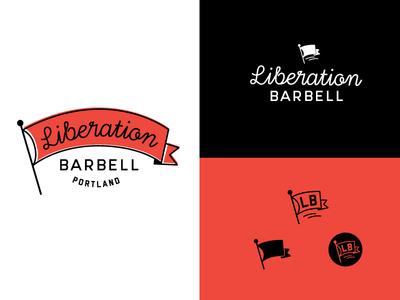 Liberation Barbell logo