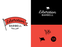 Liberation Barbell logo