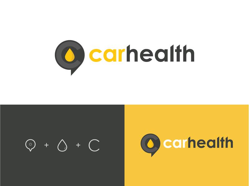 Car health logo app icon location location logo oil logo car app logo app logo app car logo carlogo logodesign brand identity branding typogaphy logo design logo