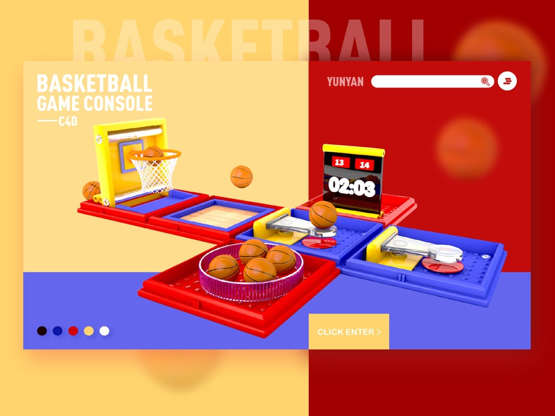 Basketball 2 design