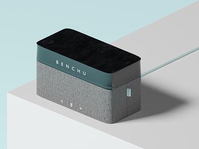Benchu Speaker Product design branding product illustration design concept 3d product 3d