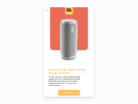 JBL Link 20 - Product UI Design