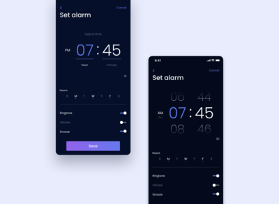 Daily UI Challenge #007 - Setting