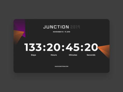 Daily UI Challenge #014 - Count Down