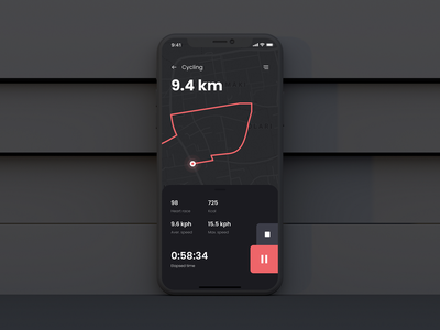 Daily UI Challenge #020 - Location Tracker 020 ui design dailyui