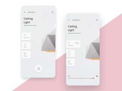 Daily UI Challenge #021 - Home Monitoring Dashboard smarthome 021 ui design dailyui