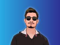 Cartoon/vector portrait
