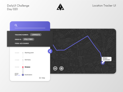 Location Tracker UI