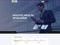 Nora Finely website ui ux