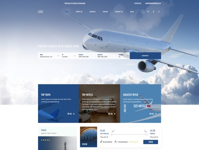 airlines book website ui ux web designer logodesign clean animation ui design adobexd photoshop user experience user interface logo graphic design website developer web developer illustration design ui branding website design ux ui  ux