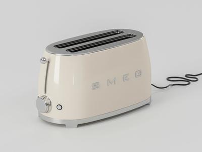 Smeg Toaster 3D Model