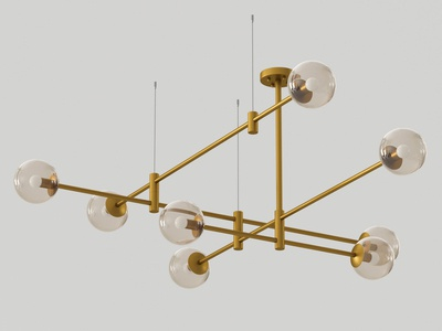 GAP Pendant Lamp 3D Model