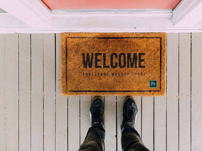Doormat Mockup