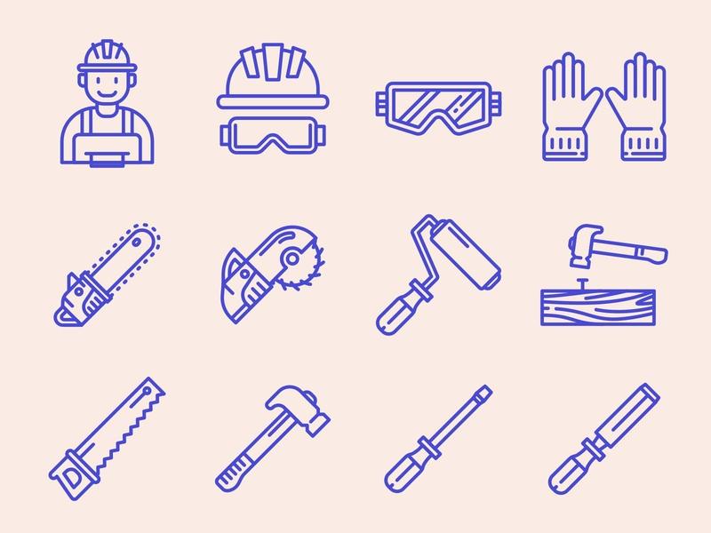 Carpenter Icons