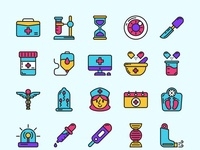 Medical Colored Icons Part 02