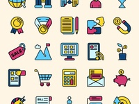 Startup Colored Icons Part 02