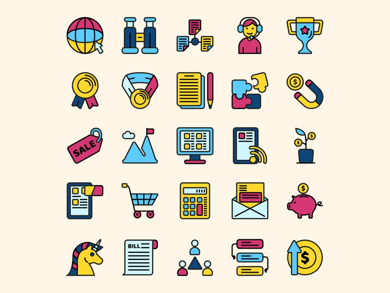 Start Up Icon Set Part 2 ai download ai design ai vector ai illustrator illustration symbol logo design logo vector download vector design icons download icons pack icons set icon design vector icon start up vector start up icon start up