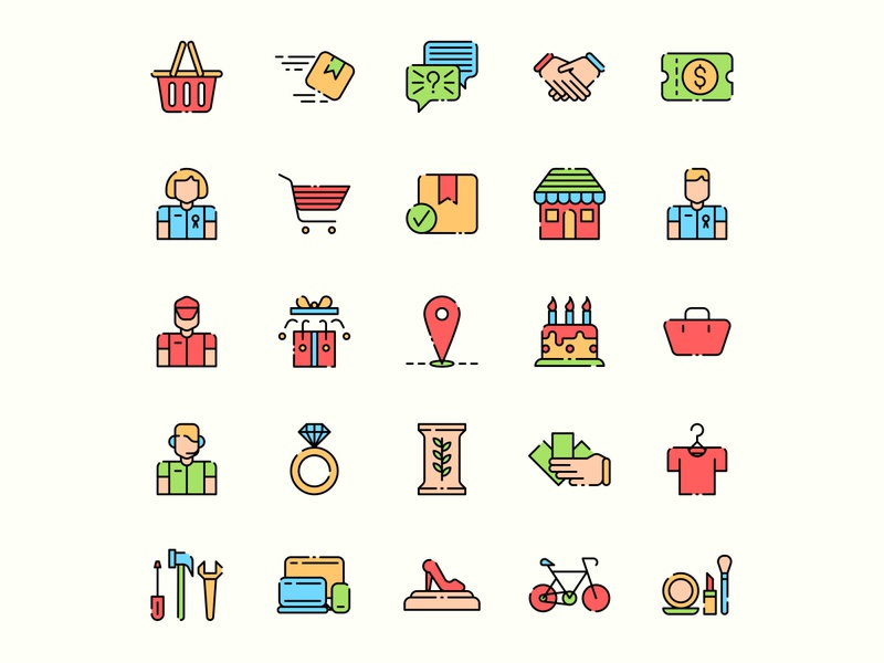 E Commerce icon set ai download ai design ai vector ai illustrator illustration symbol logo design logo vector download vector design icons download icons pack icons set icon design vector icon e commerce vector e commerce icon e commerce