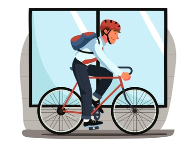 Cycling Illustration cartooning cartoon character design character illustrator vector design vector download vector vector illustration cycling illustration illustration cycling freebie