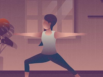 Yoga Illustration design cartooning vector vector design illustrator vector download freebie illustration free illustration illustration download vectpr illustration yoga illustration yoga