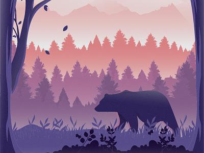 Bear Vector Illustration design cartooning vector vector design illustrator vector download freebie illustration forest wild illustration download vector illustration free illustration bear vector bear illustration bear