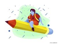 Free Back To School Illustration