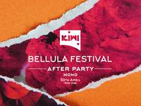 Bellula Festival Poster