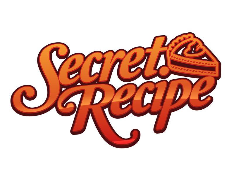Secret Recipe Logo by Faridzwan Siman on Dribbble