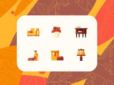 Autumn Interior Icons