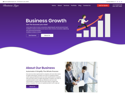 Corporate Upcoming Website