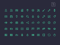 Stroke Gap Icons Vol1