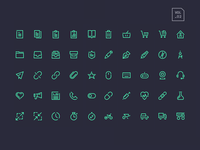 Stroke Gap Icons Vol 2