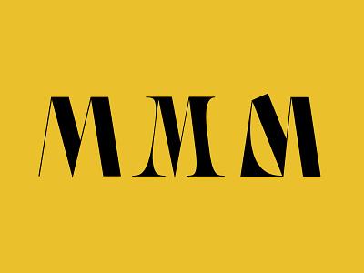 M Type Design letter typo typography lettering typeart typedesigner typedesign type