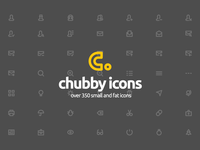 Chubby Icons